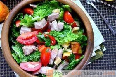 Vinaigrette aux légumes frais
