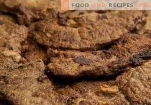 Foie de boeuf frit aux oignons