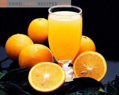 Compote d'oranges pour l'hiver
