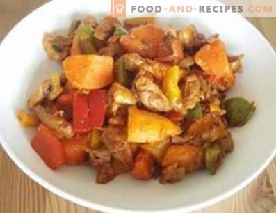 Ragoût de canard aux légumes
