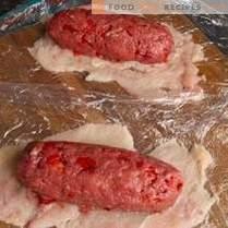 Petit pain de bœuf diététique au filet de poulet