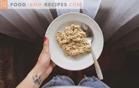 Erreurs de cuisson gruau. D'où vient le mythe de la farine d'avoine - sans saveur