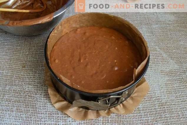 Le gâteau de quiche au chocolat parfait