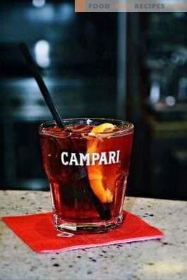 Campari drinken