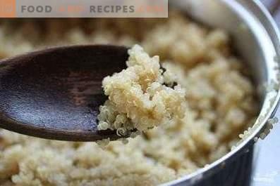 Quinoa pour la garniture