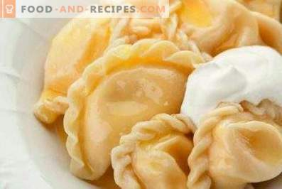 Dumplings au fromage