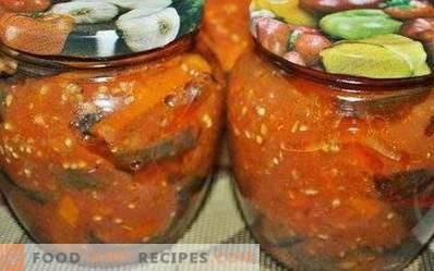 Aubergines à la sauce tomate pour l'hiver