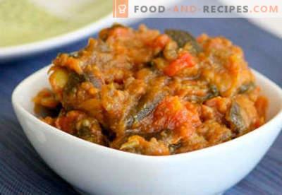 Salades en conserve pour les recettes éprouvées d'hiver. Comment bien et savoureux salades en conserve cuites pour l'hiver.
